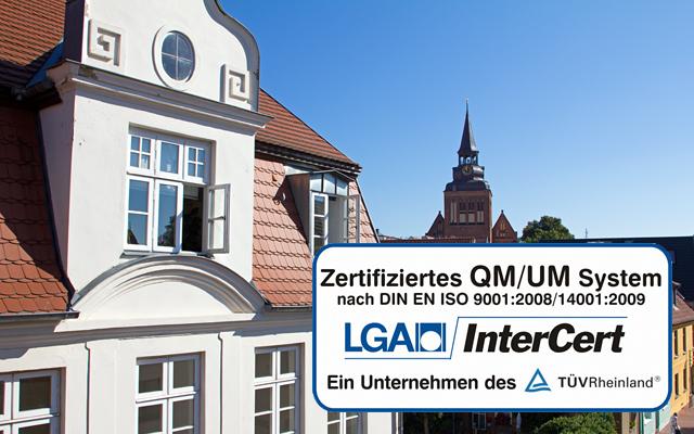 Schornsteinfeger Heiko Karmoll - zertifiziertes QM/UM nach DIN EN ISO 9001:2008//14001:2009